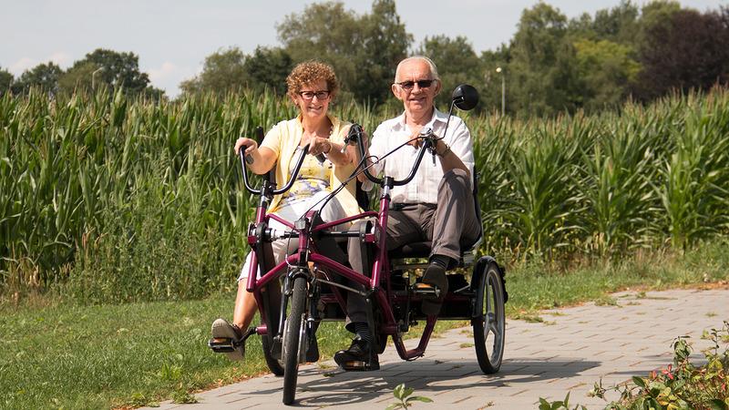 Senioren in Someren zoeken fietsmaatjes