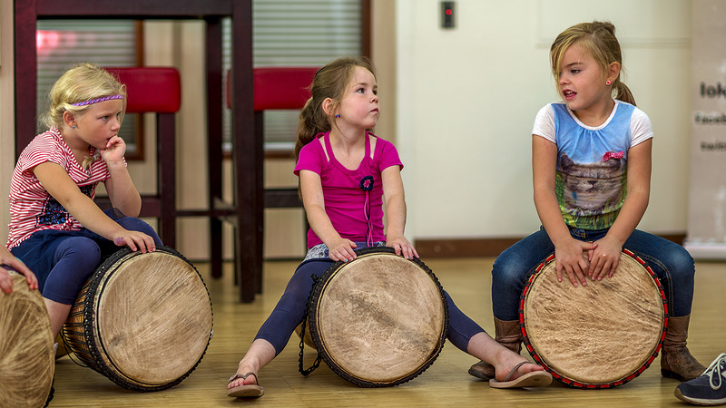 Muzikale dag Lokaal Muziekles bij Korein Kinderplein