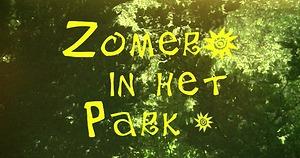 Zomer in het park