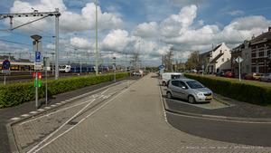 Braakliggend terrein achter station flixbussen parkeren_Ronald van den Hoven / RTV Maastricht.