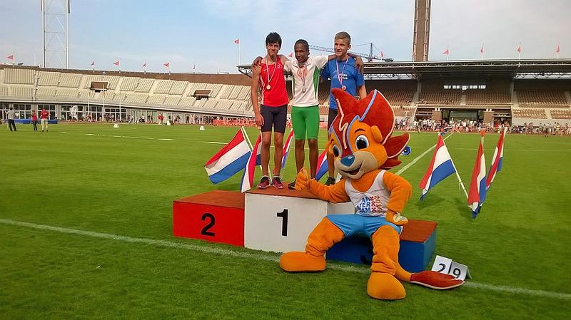 Maarten Debeij succesvol op NK atletiek voor D-junioren