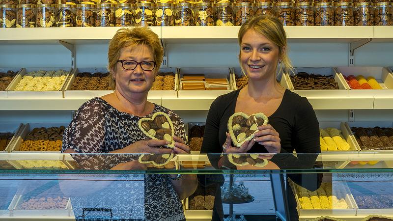 Nieuwe chocoladewinkel in Someren