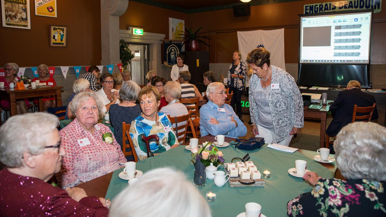 Ongekend Jubileumviering 60 jaar Vrouwen Centraal Someren - SIRIS.nl CF-07