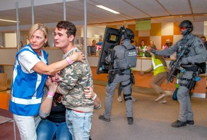 ETZ noemt rampenoefening in ETZ en Willem II Stadion succes