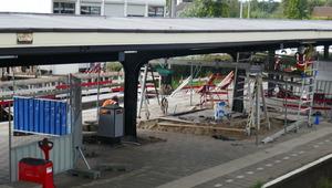 Ingrijpende werkzaamheden bij station Castricum