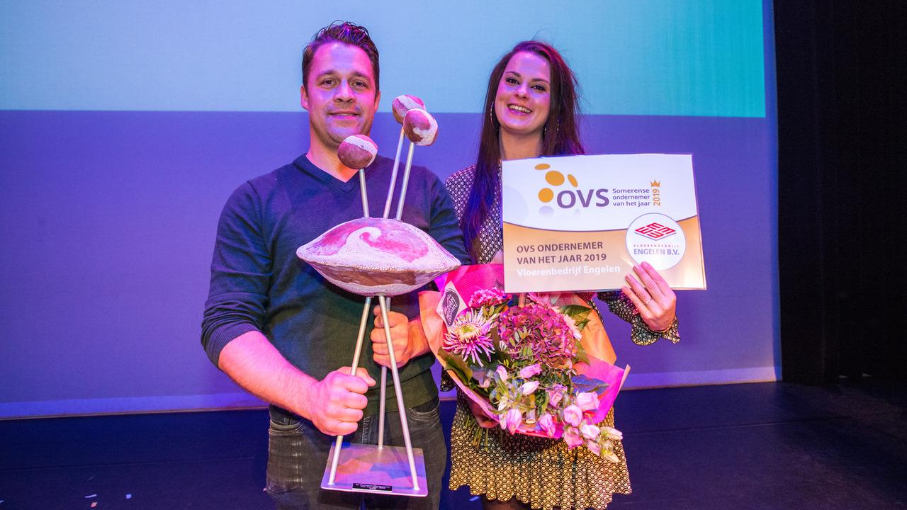Vloerenbedrijf Engelen Somerense Ondernemer van het Jaar 2019 - SIRIS.nl