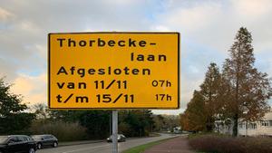 Werkzaamheden Rivierdijk-Thorbeckelaan gestart