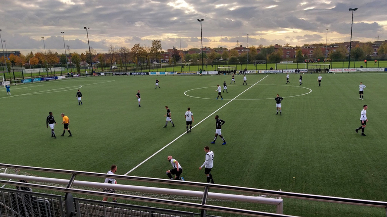 Miquel Ballo matchwinner voor VV Maarssen 1 tegen JSV - RTV Stichtse Vecht