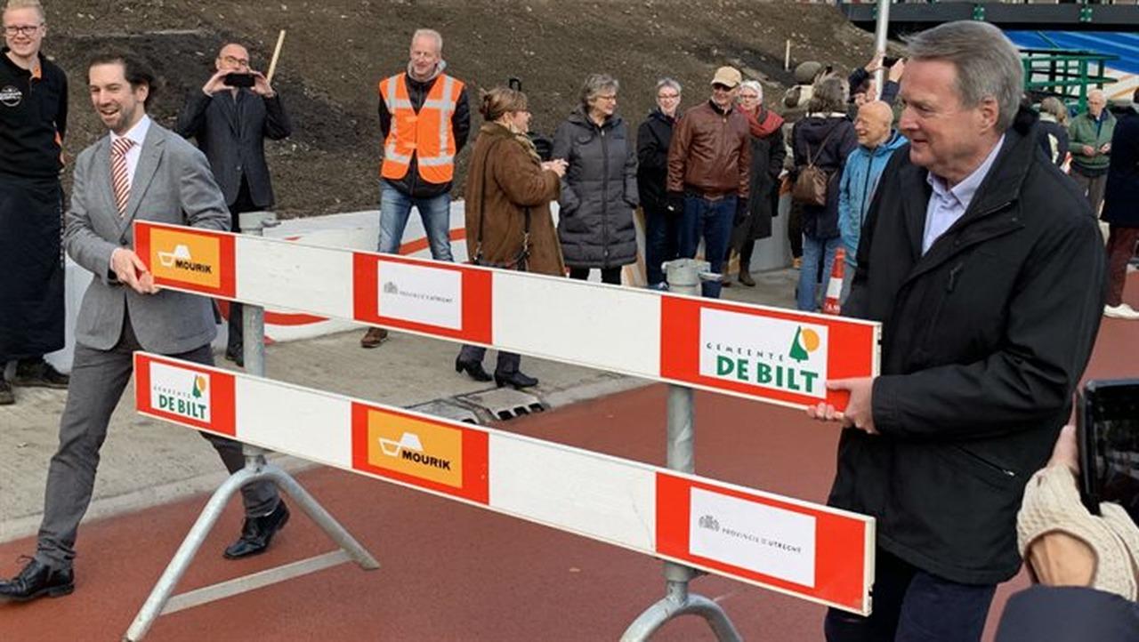 Fietstunnel De Bilt officieel geopend - Roulette FM