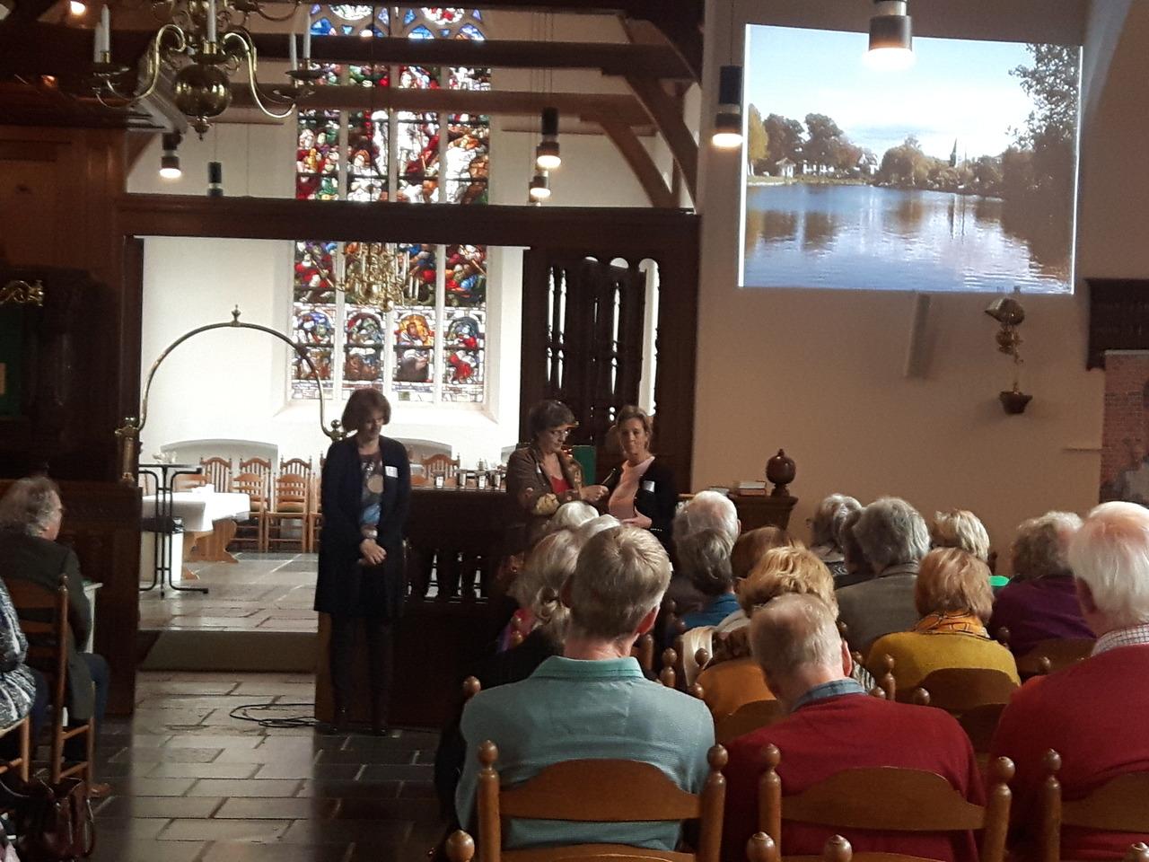 Kerkenconferentie in dorpskerk Vreeland - RTV Stichtse Vecht