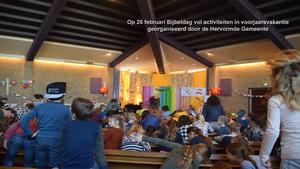 Bijbeldag vol activiteiten in voorjaarsvakantie