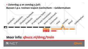 Werkzaamheden MerwedeLingelijn zomer 2020