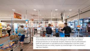 Vernieuwde Albert Heijn Hardinxveld-Giessendam weer open