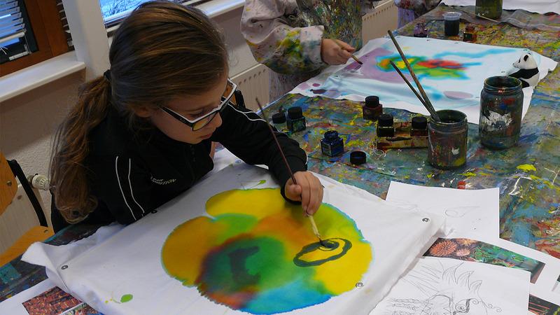 Schildercursus 't Kinderpalet gaat van start