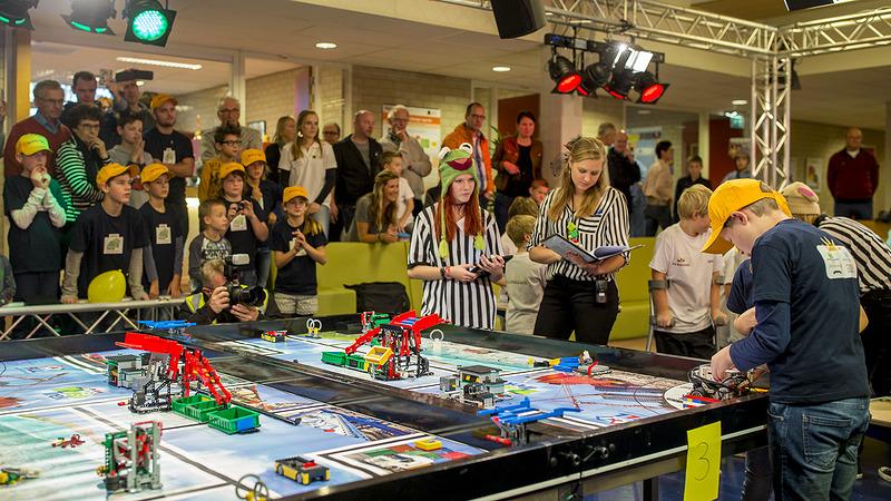 De Horizon wint projectprijs in regiofinale First Lego League