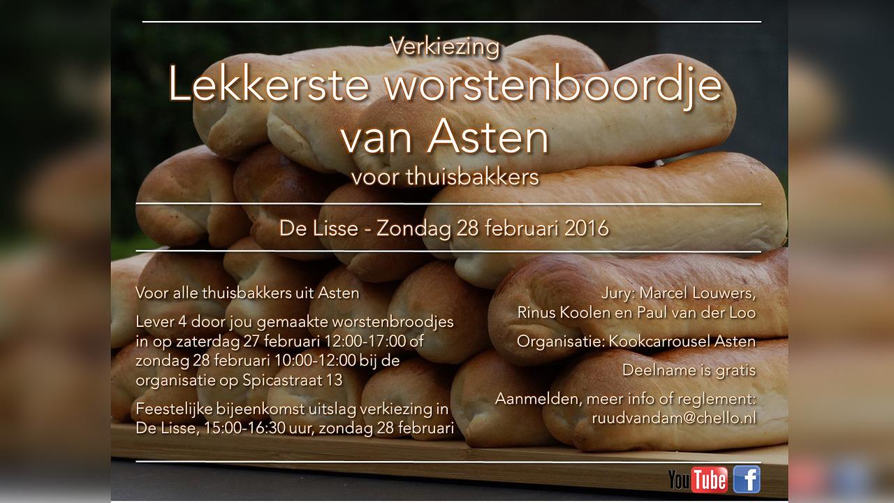 Verkiezing lekkerste worstenbroodje van Asten - SIRIS.nl