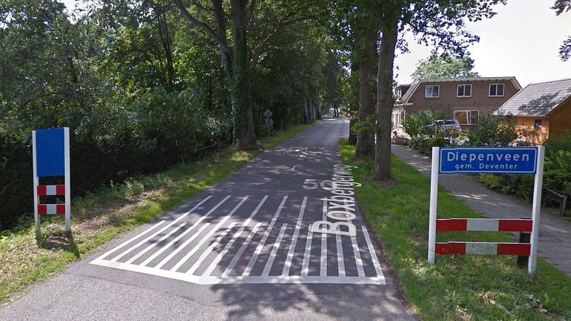GL Deventer wil veiliger Boxbergerweg  bij Diepenveen