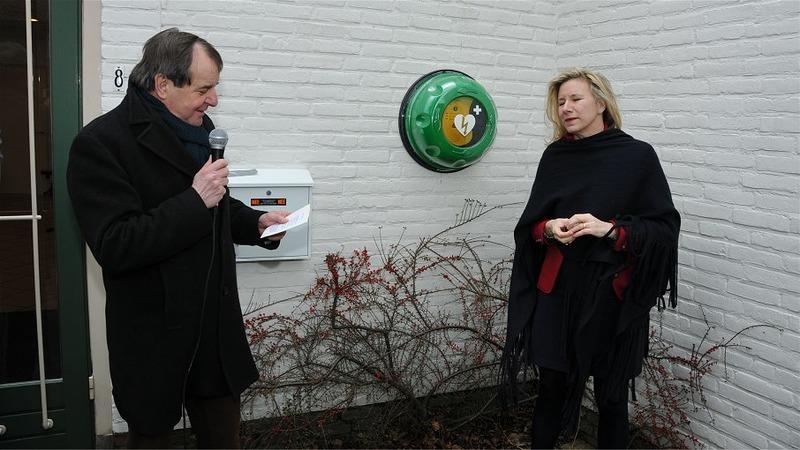 AED kastje Breukelen in gebruik genomen