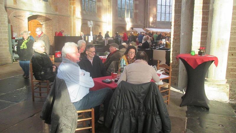 Sfeerimpressie Grote Kerk Kerstmarkt