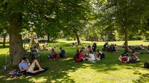 Deel stadspark nu Pierre Kemppark