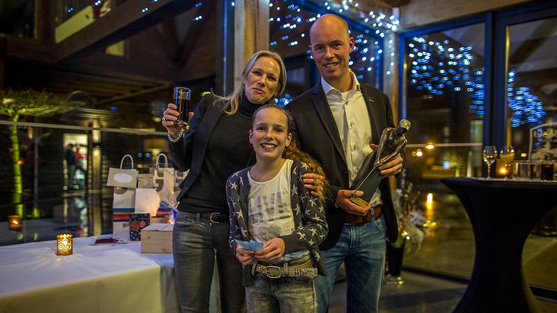 Receptie Rob Mouwen, de beste golfprofessional van Nederland