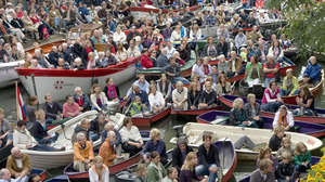 Tilburg te Water: Sur le Ponton