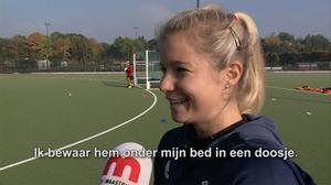 Wat bewaart hockeyster Sophie Bray onder haar bed?