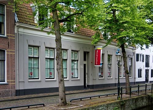 Mondriaanhuis Amersfoort aan de Kortegracht 11.