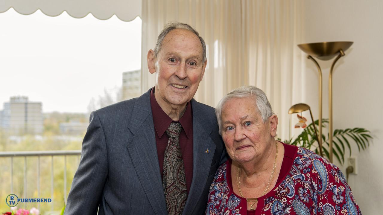Jarig huwelijk echtpaar van der ven wittebol rtv