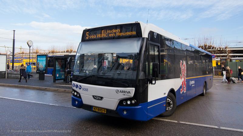 Ronald van den Hoven/RTV Maastricht_Arriva Bus lijn5