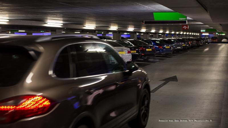 Ronald van den Hoven / RTV Maastricht__parkeergarage Q park binnen-2