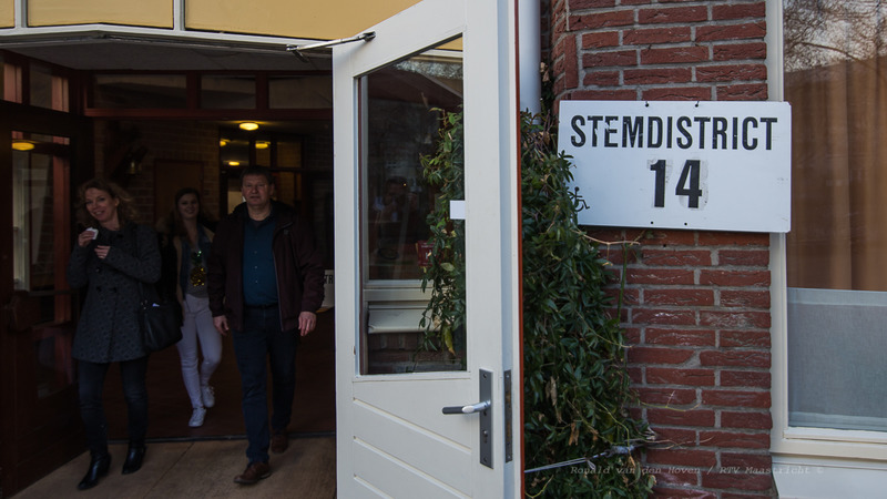 stemmen_stemdistrict_verkiezingen_Ronald van den Hoven / RTV Maastricht