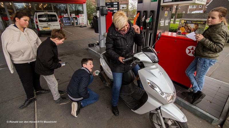 scholieren kindcentrum limmel meten luchtkwaliteit_Ronald van den Hoven / RTV Maastricht