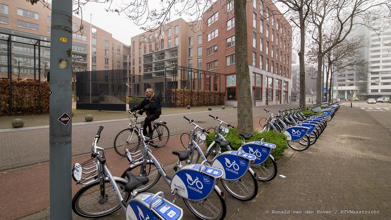 nexbike arriva leenfiets fiets huren centre ceramique_Ronald van den Hoven / RTV Maastricht