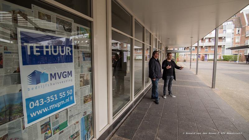 leegstand de heeg winkelcentrum_Ronald van den Hoven / RTV Maastricht