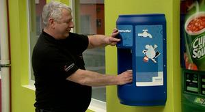 WML plaatst watertap in Leeuwenborgh College