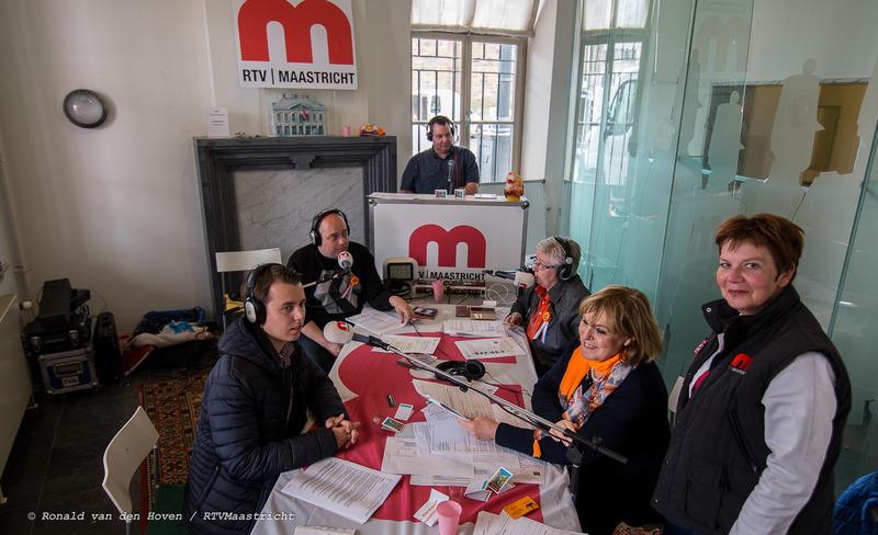 live Radio Bij De Liewe_Ronald van den Hoven / RTV Maastricht
