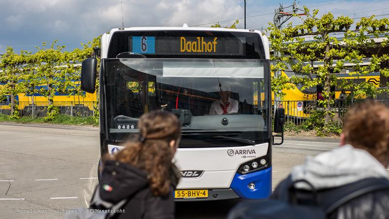 bussen bus lijn 6 daalhof arriva-2_Ronald van den Hoven / RTV Maastricht