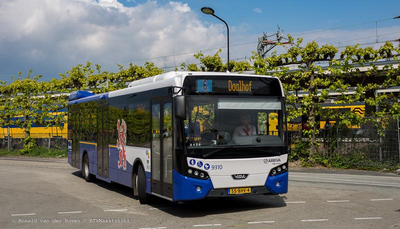 bussen bus lijn 6 daalhof arriva_Ronald van den Hoven / RTV Maastricht