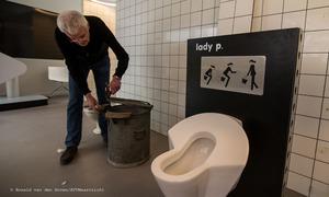 Expositie over ontstaan en ontwikkeling van de toilet