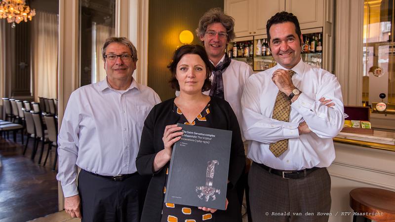 geschiedenisboek vrijthof_Ronald van den Hoven / RTV Maastricht