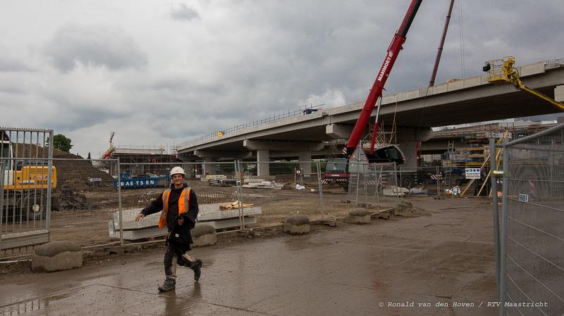 Noorderbrug werkzaamheden_Ronald van den Hoven / RTV Maastricht