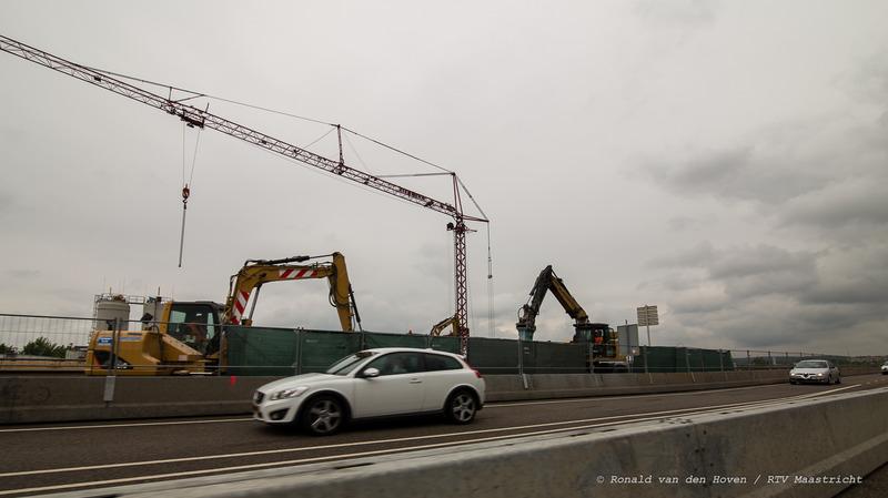 Noorderbrug werkzaamheden-2_Ronald van den Hoven / RTV Maastricht