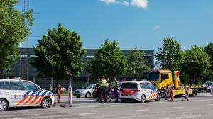 verkeersongeluk met brandweer-2_Ronald van den Hoven / RTV Maastricht