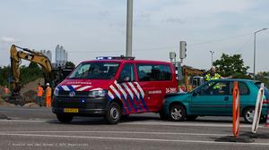 verkeersongeluk met brandweer-3_Ronald van den Hoven / RTV Maastricht
