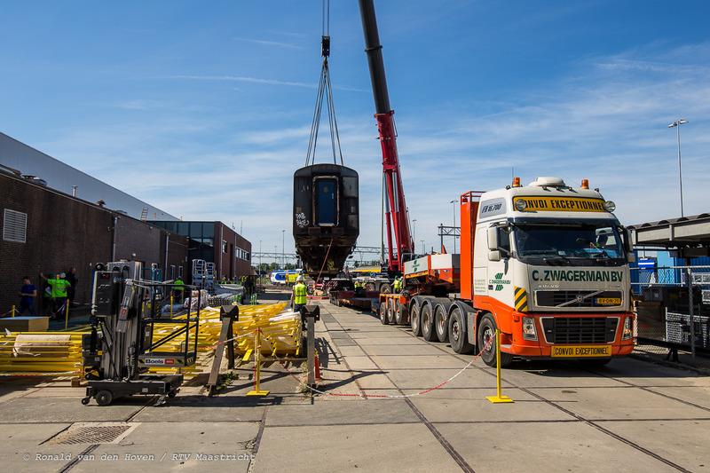 nedtrain wagon transport-4_Ronald van den Hoven / RTV Maastricht