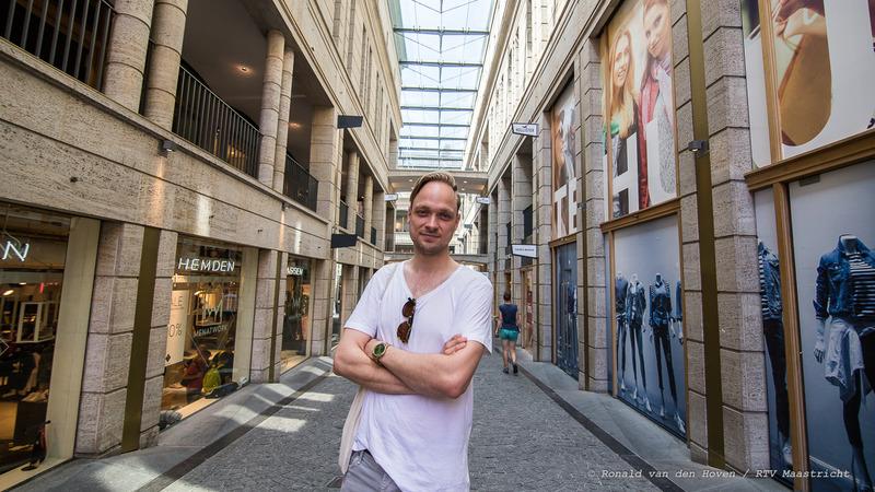 vlogger_Marijn Carton_Ronald van den Hoven / RTV Maastricht.