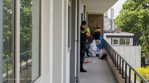 Politie reconstrueert moord in flat