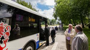 Acties tegen busbeleid