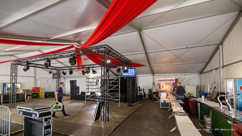 Sjaander Broonk tent_Ronald van den Hoven / RTV Maastricht.